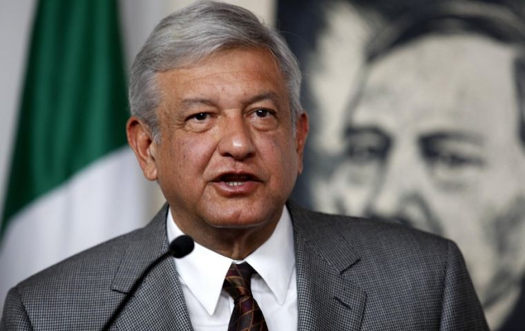 Andres Manuel Lopez Obrador was backed by 48% in a poll by Reforma newspaper, while support for Ricardo Anaya of a right-left coalition slid to 26%
