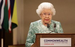 Elizabeth, who turns 92 on Saturday, has led the Commonwealth since she became queen in 1952.