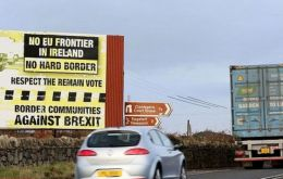 "UK plans for avoiding a hard border with Ireland were subjected to ""a systematic and forensic annihilation"", during a meeting between UK and EU officials. (Pic BBC)"