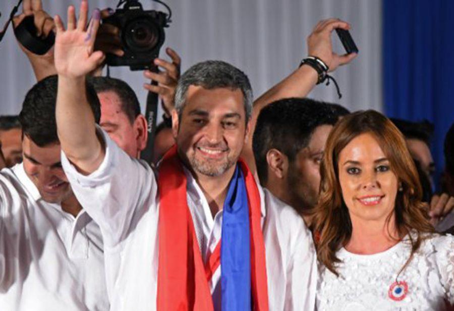 Mario Abdo Benítez ganó poco más del 46% de los votos, con su oponente centrista Efraín Alegre tomando casi el 43% en una carrera que estaba mucho más cerca de lo esperado.  (Pic AFP)