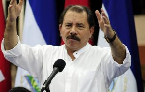 Daniel Ortega announced the cancellation of the overhaul accompanied by business executives who account for about 130,000 jobs and millions of dollars in exports.
