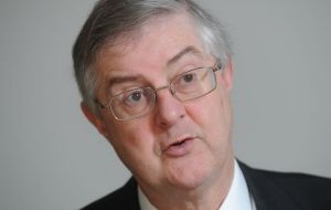 The man widely considered to be a potential front-runner contender in the leadership race, is Finance Secretary Mark Drakeford