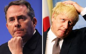 If this happens senior members of the Cabinet such as International Trade Secretary Liam Fox and Foreign Secretary Boris Johnson could both resign.