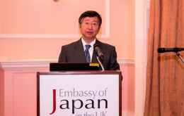 Japan's ambassador to the UK Koji Tsuruoka, said Japanese firms are watching negotiations and will want to continue to be located in the single market