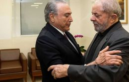 This group is led by Lula who was sentenced to 12 years in jail; president Temer is accused two cases and targeted by two ongoing investigations