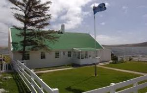 Gilbert House, the seat of the Legislative Assembly, which is the elected government of the Falklands