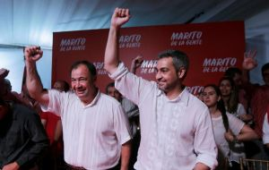 "Mario Abdo Benitez, ""Marito"", a 46-year-old former senator who campaigned on an anti-corruption platform is set to be sworn in as president in mid-August"