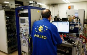 The EC has started to exclude Britain and its companies from future work on Galileo ahead of the country's exit from the EU in a year's time