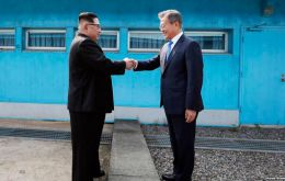 The two leaders announced the deal after a historic meeting on their shared border, the first time a North Korean leader has set foot on the southern side.