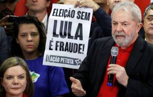 Lula's Workers' Party (PT) has said he remains their candidate despite his legal troubles, which it claims have been politically motivated to keep him out of the race.