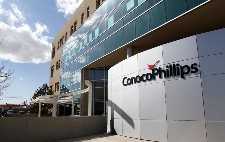 Conoco's assets in Venezuela were expropriated in 2007 following a nationalization of the country's oil industry led by late President Hugo Chavez.