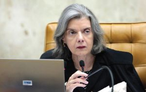 As a result of a constitution's article, Justice Carmen Lucia, head of Brazil's Supreme Federal Tribunal became interim president while Temer, Maia and Eunicio Oliveira were overseas.