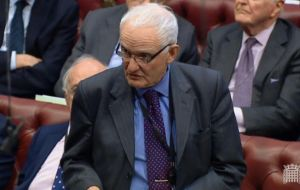 "Peer Conservative Viscount Hailsham, told Lords the principle of parliamentary sovereignty was ""fundamental to our liberties and must not be betrayed"""