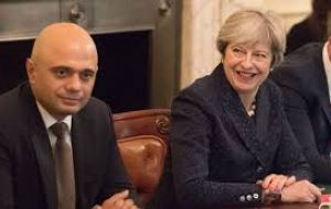 "Javid said he would not be using the phrase ""hostile environment"" to describe immigration laws introduced by Theresa May when she was home secretary."