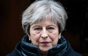 "Mrs. May said that ""when I was home secretary, yes, there were targets in terms for removing people from the country who were here illegally"""