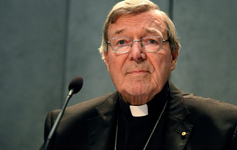 "Last year, Pell stated publicly, ""I am innocent of these charges, they are false. The whole idea of sexual abuse is abhorrent to me."""