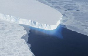 Scientists know already that Thwaites Glacier, which is twice the size of the UK, accounts for around 4% of global sea level rise.
