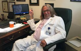 "Mr Bornstein also said that government officials had carried out a ""raid"" on his offices in February 2017, removing all of Mr. Trump's medical records"