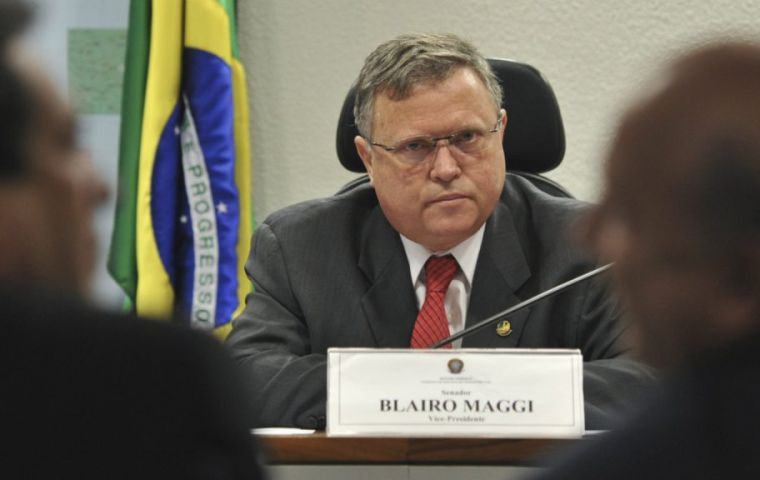Prosecutor General Raquel Dodge filed charges at the Supreme Court against Minister Blairo Maggi