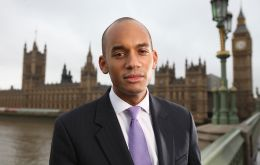 "Labour's Chukka Umunna said that ""after eight years of Tory government and the resignations of several senior ministers... Labour to be making far greater gains"""