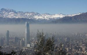 Mexico City, Sao Paulo and Santiago some of Latin-American cities with the highest levels of air pollution