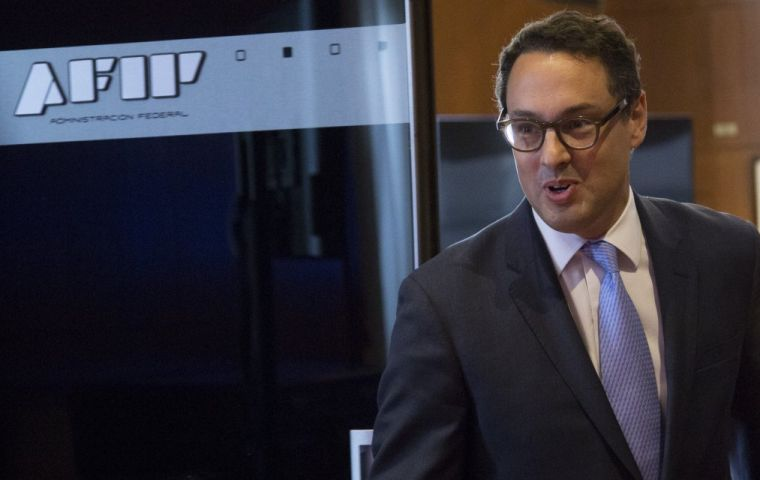 A sustained tax information exchange with other countries, will allow AFIP to consolidate fiscal controls, said AFIP head Leandro Cuccioli.