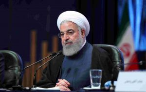 "Iranian President Hassan Rouhani said: ""I have ordered the foreign ministry to negotiate with the European countries, China and Russia in the coming weeks""."