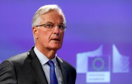Michael Barnier, Brussels chief Brexit negotiator, triggered the controversy when he argued UK companies should be excluded from the Galileo project