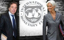 Nicolas Dujovne is due to meet with IMF chief Christine Lagarde to request a financing package