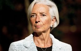 """I stressed my strong support for Argentina's reforms to date, and expressed the Fund's readiness to continue to assist the government,"" Lagarde said"