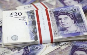 Sterling fell on the news and was trading lower by 0.2% against the US dollar at 1.35. Versus the euro, the pound slumped 0.7% to around 1.13.
