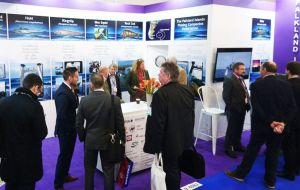 Falkland Islands fishing companies during Brussels Seafood Show