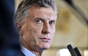 Macri last week began negotiations with the IMF requesting an aid package to stem the currency run, of allegedly US$ 30bn.