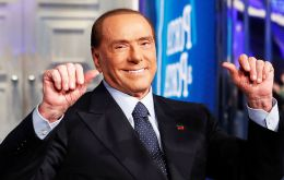 """Finally five years of injustice has come to end,"" Berlusconi's Forza Italia party said in a statement. ""Berlusconi can once again be a candidate."""