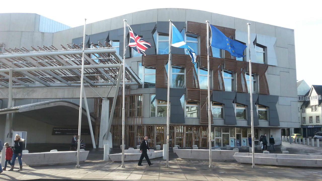 "A historic moment for the Scottish Parliament and ""I hope that the UK government will respect the views of this parliament,"" Bruce Crawford said"