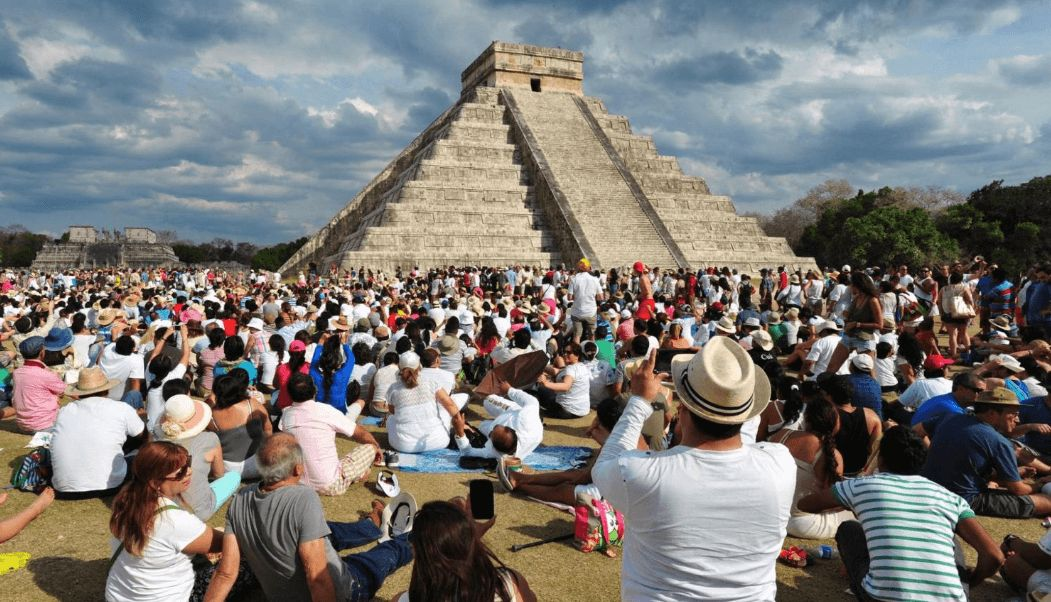 Αποτέλεσμα εικόνας για 10.6 million international tourists visited Mexico in the first quarter