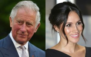 Markle will initially walk down the aisle alone, but will then be joined by her future father-in-law Prince Charles