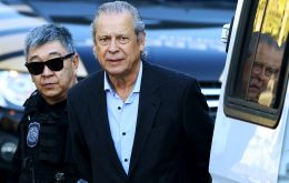 "Dirceu was jailed in Papuda, near Brasilia, and could next be transferred to the city of Curitiba, where the giant ""Car Wash"" anti-corruption operation is based"