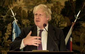 """This is happening at the very moment when our country, the United Kingdom, is intelligently reinserting itself into the global community"", Johnson added."