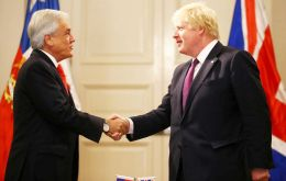 The Foreign Secretary held talks with President Sebastián Piñera