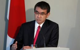 "Japanese Foreign Minister Taro Kono said ""the TPP has 'Trans-Pacific' in its name but is not limited to the Pacific Ocean"""