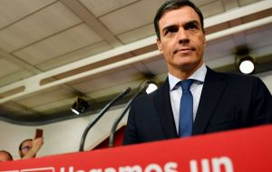 "The ruling triggered ""social indignation"" that has put Spain ""in a situation of an extreme institutional crisis"", Socialist leader Pedro Sanchez said."