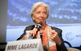 """We are really moving ahead and we have committed to President Macri that we will do the best we can in order to move expeditiously"", Ms Lagarde said"