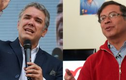 The latest opinion polls released had Duque with an eleven percentage points lead. If no candidate gets a majority on May 27, a runoff vote will be held on June 17.
