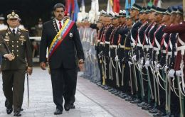 "President Maduro ordered the military high command that the Armed Forces must sign a document of ""loyalty"" to the regime."