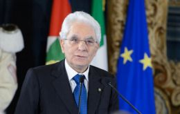 Efforts by PM-designate Giuseppe Conte to form a government collapsed on Sunday after Mr Mattarella (Pic) rejected Euro skeptic candidate Paolo Savona.