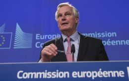 "Barnier's intervention during a visit to Portugal, illustrated the gap between the two sides in the negotiations. ""Time is running short,"" he said"