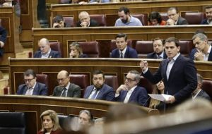 Ciudadanos, a rising star in the center-right of Spanish politics led by Albert Rivera, a young lawmaker from Catalonia, is refusing to support Sanchez
