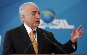 Aiming to pull Brazil from a deep recession, Temer's administration said there would no longer be interference in Petrobras pricing.