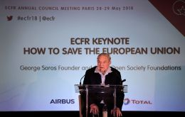 "Addressing the European Council on Foreign Affairs, a think tank he helped found, Soros said: ""Divorce will be a long process, taking more than five years""."